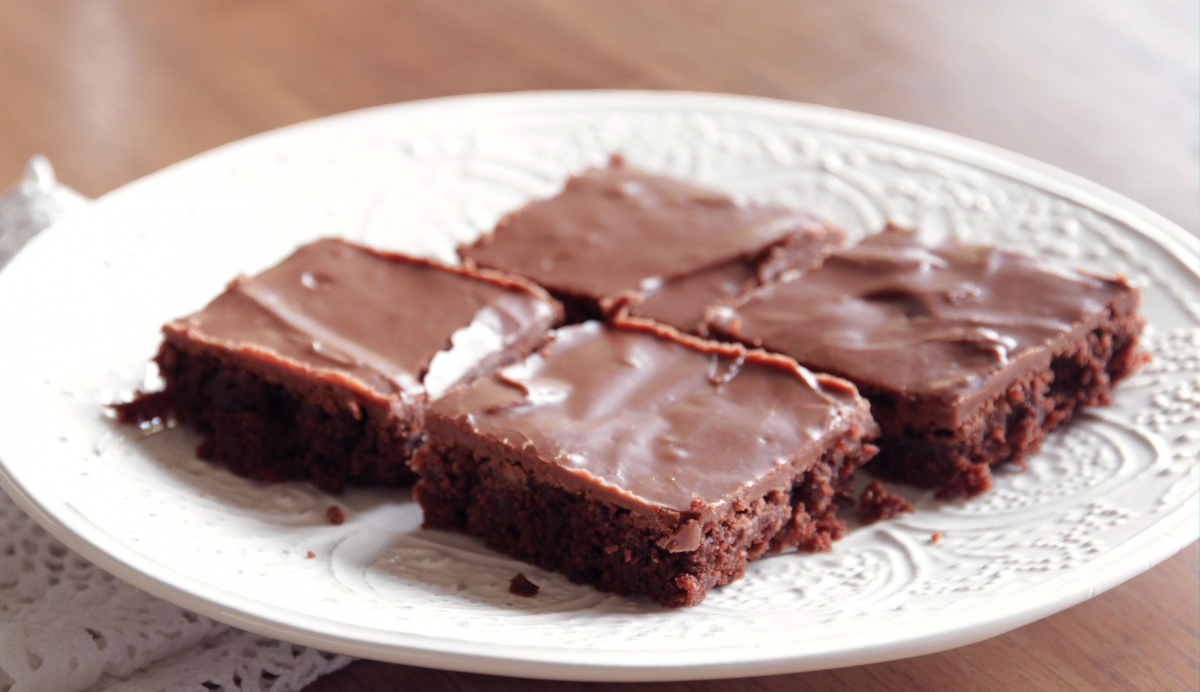 Fudge Brownies - Living on Cookies
