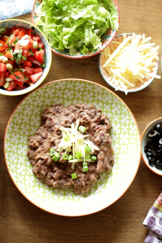 Refried Beans ~ Living on Cookies