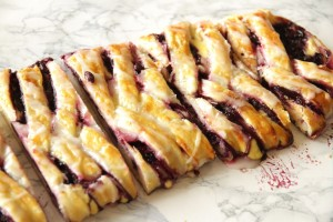 Blueberry Topfen Strudel