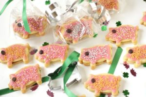 New Year's Pig Cookies
