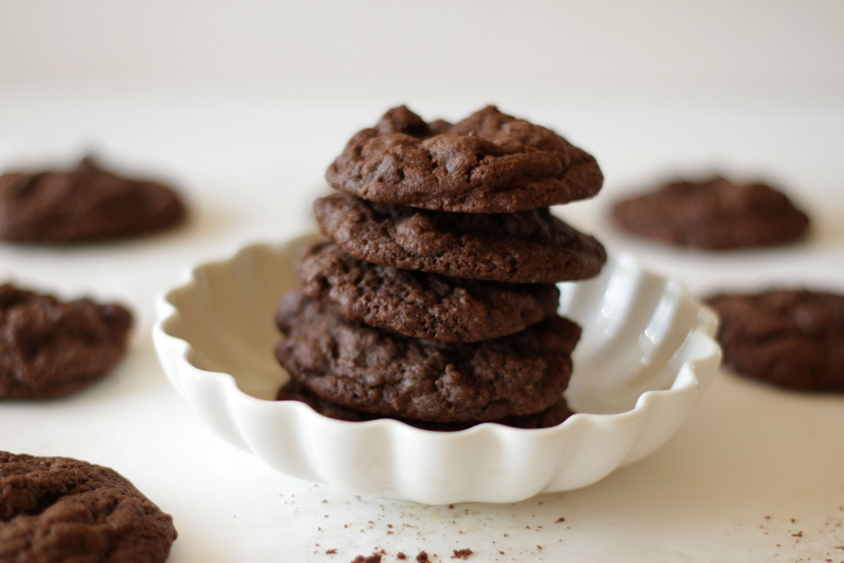 The Perfect Chocolate Chocolate Chip Cookies ~ Living on Cookies