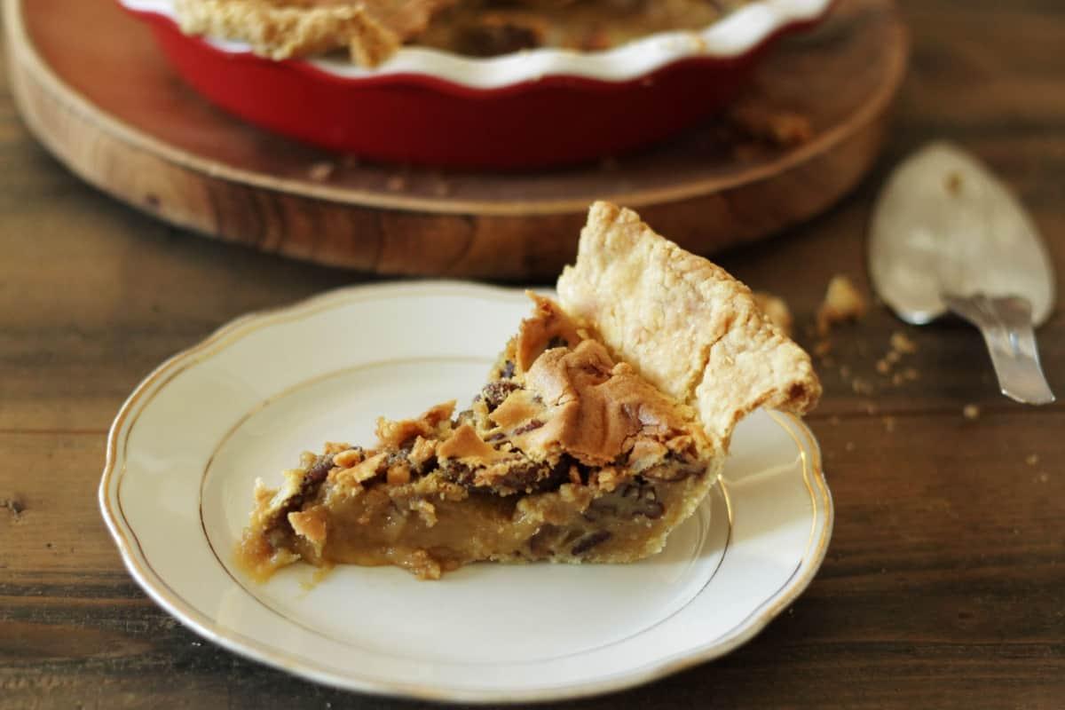 Klassischer Pekan Pie