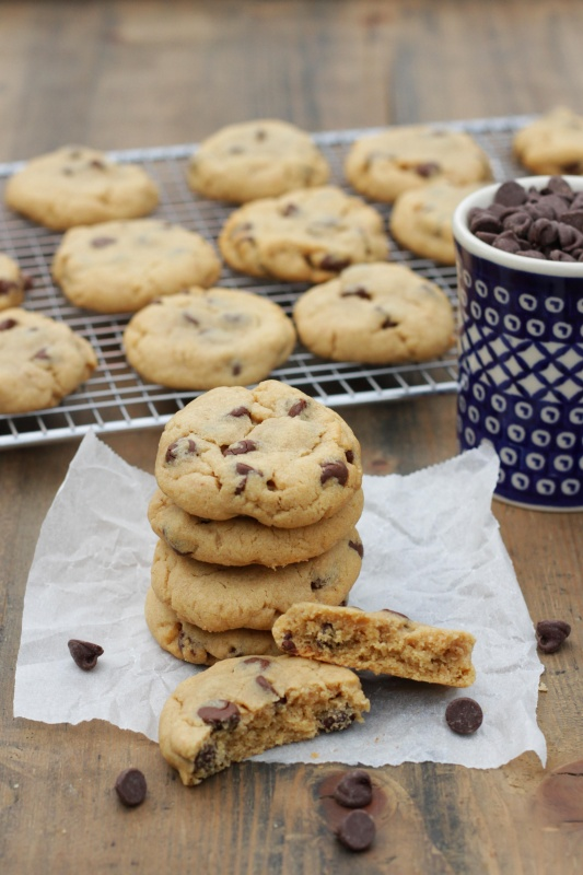 These are the ultimate Peanut Butter Chocolate Chip Cookies! Made completely from scratch, they are soft, thick and pack the maximum amounts of peanut butter and chocolate into the dough.