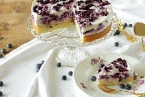 Heidelbeer-Topfentorte ~ Living on Cookies