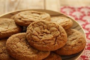 Weiche Ingwer-Melasse Cookies