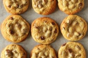Die besten amerikanischen Chocolate Chip Cookies