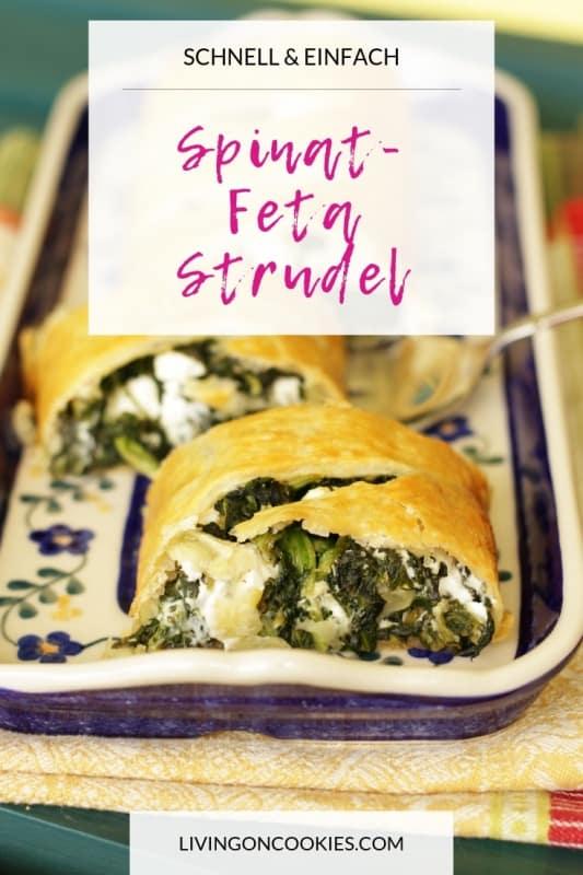 Spinat-Feta-Strudel ist schnell und einfach zuzubereiten und schmeckt genauso gut bei Zimmertemperatur wie warm. Somit lässt er sich gut in die Arbeit und in die Schule mitnehmen. Ich nehme ihn auch gern zu Festen mit. Probiere das Rezept aus!