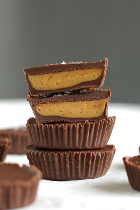 Homemade Peanut Butter Cups Living On Cookies
