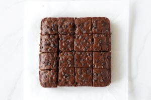 Fudgy Vegan Pumpkin Brownies